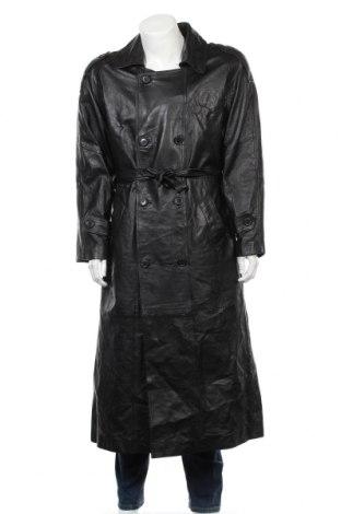 Мъжко кожено яке Arm's, Размер M, Цвят Черен, Естествена кожа, Цена 51,19лв.