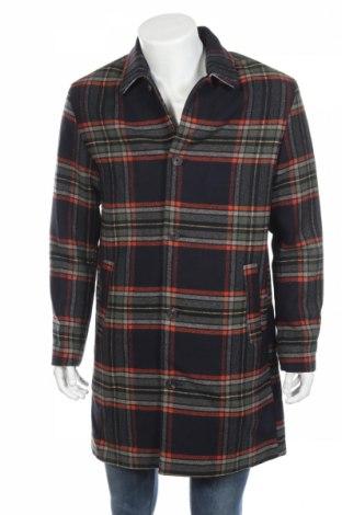 Męski płaszcz Jack & Jones, Rozmiar L, Kolor Kolorowy, 75% poliester, 20% wełna, 5% inny materiał, Cena 372,50zł