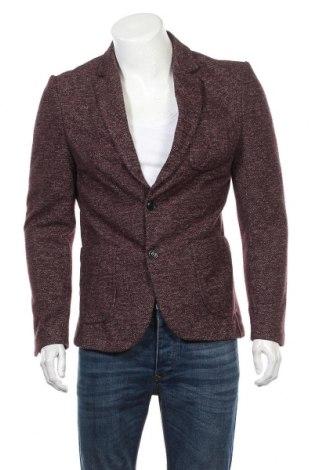 Мъжко сако Zara, Размер M, Цвят Лилав, 75% полиестер, 25% памук, Цена 13,02лв.
