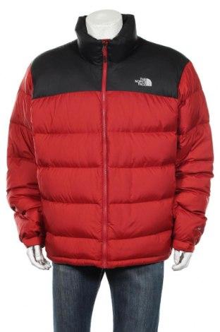 Мъжко спортно яке The North Face, Размер XXL, Цвят Червен, Полиамид, пух и пера, Цена 92,25лв.