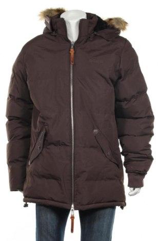 Мъжко яке Geographical Norway, Размер XL, Цвят Кафяв, Полиестер, Цена 163,77лв.