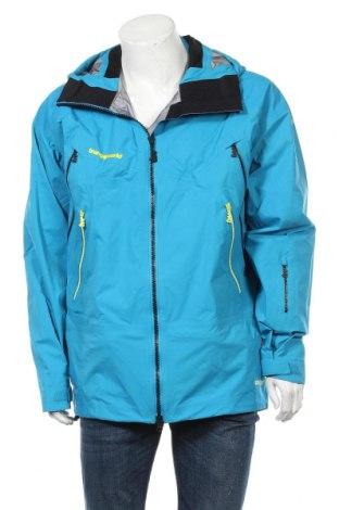 Мъжко яке за зимни спортове Trangoworld, Размер L, Цвят Син, 69% полиамид, 31% полиуретан, Цена 187,85лв.