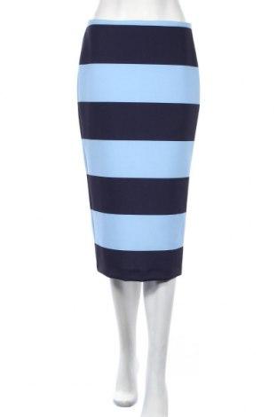 Пола Zara, Размер M, Цвят Син, 88% полиестер, 12% еластан, Цена 34,20лв.