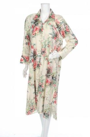 Рокля Zara, Размер L, Цвят Многоцветен, Памук, Цена 42,00лв.