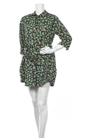 Рокля Zara, Размер XS, Цвят Многоцветен, Памук, Цена 30,40лв.