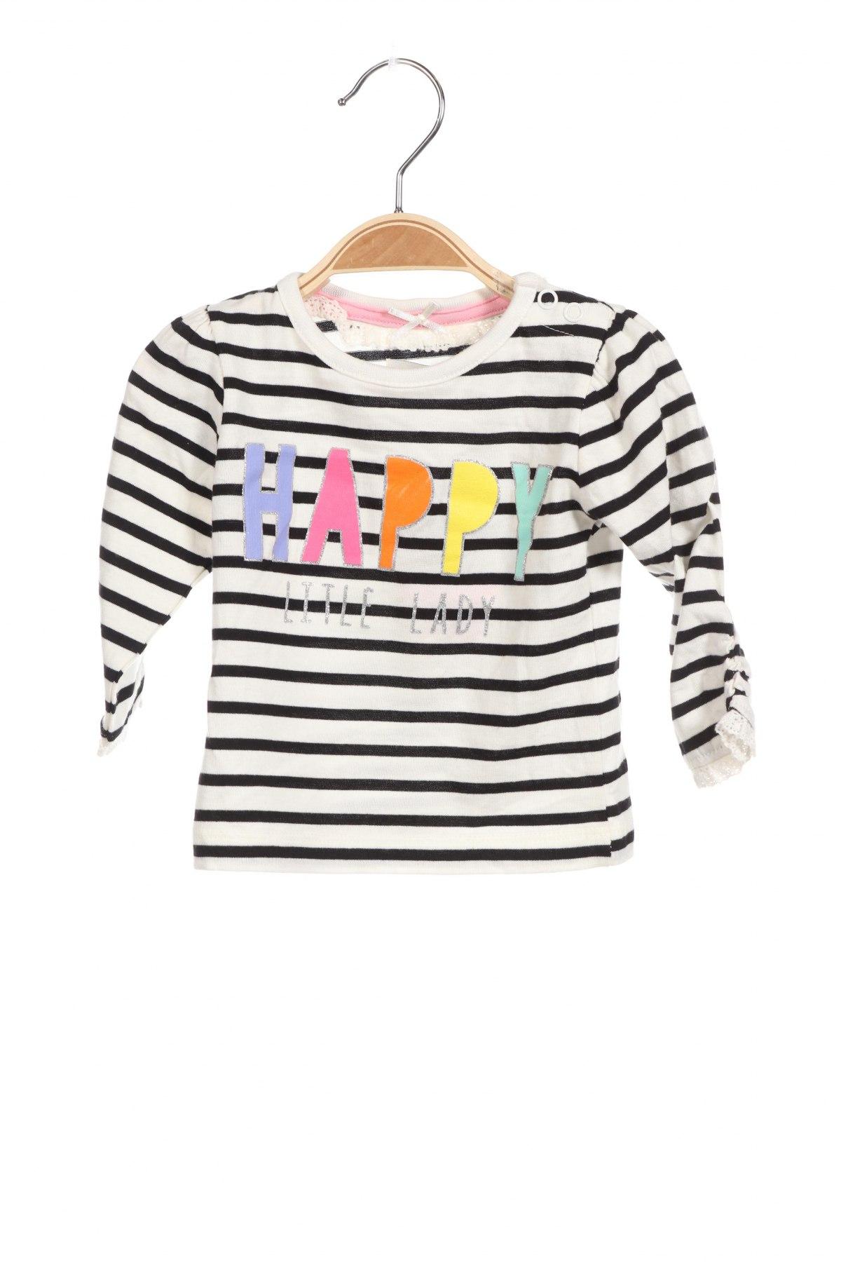 Детска блуза Crafted, Размер 3-6m/ 62-68 см, Цвят Черен, 100% памук, Цена 22,75лв.