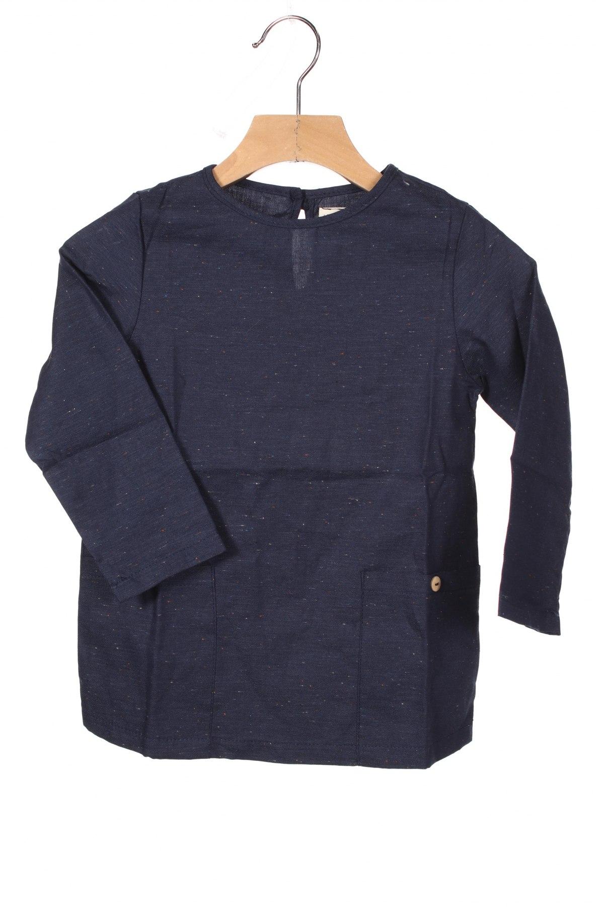 Детска блуза Little Celebs, Размер 2-3y/ 98-104 см, Цвят Син, 100% памук, Цена 28,50лв.