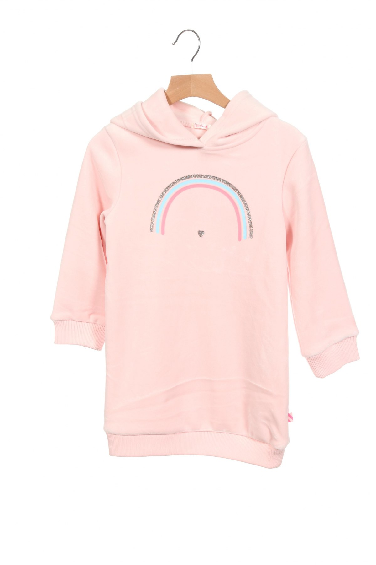 Детска рокля Billieblush, Размер 5-6y/ 116-122 см, Цвят Розов, 94% полиестер, 6% еластан, Цена 38,40лв.
