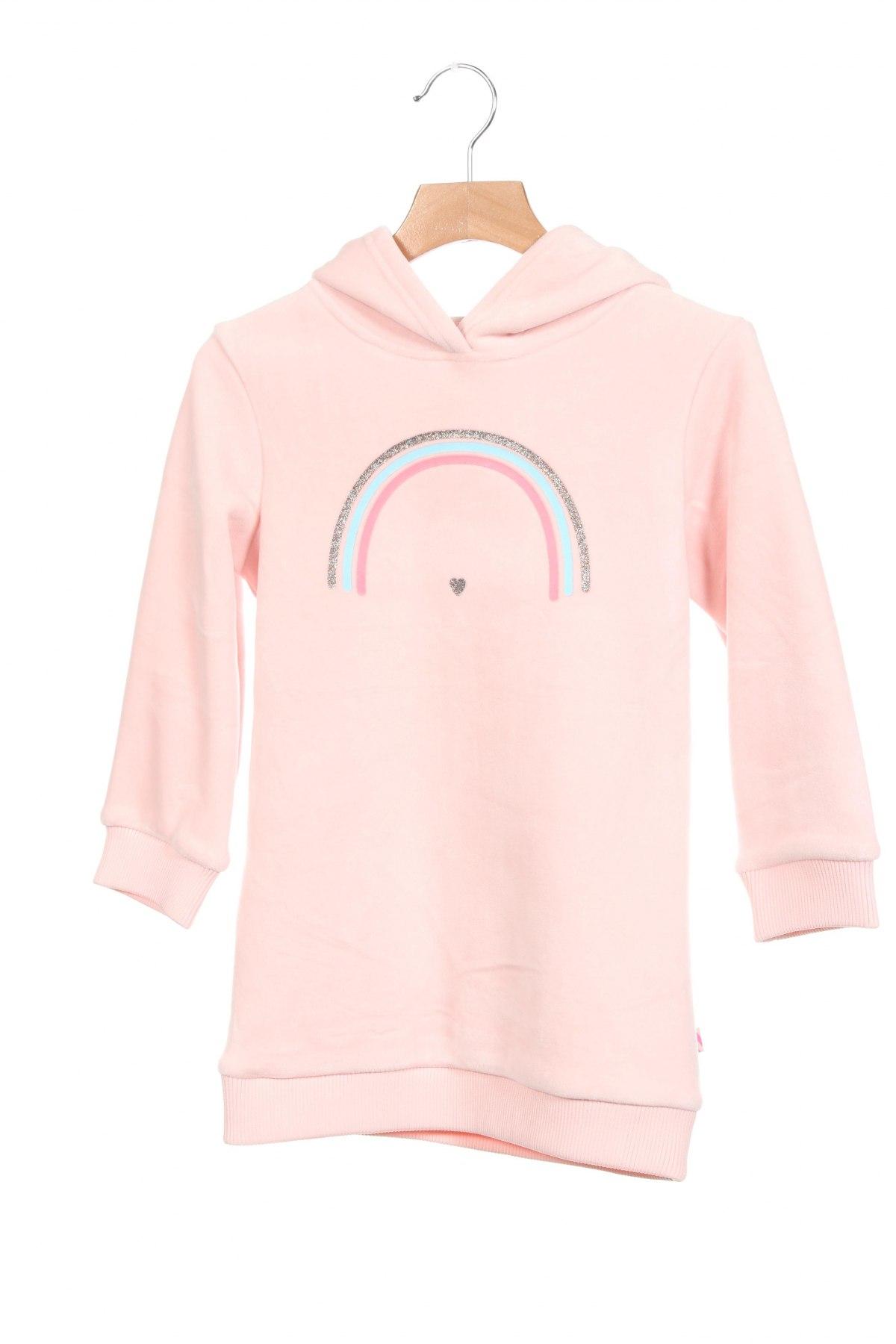 Детска рокля Billieblush, Размер 4-5y/ 110-116 см, Цвят Розов, 94% полиестер, 6% еластан, Цена 59,25лв.