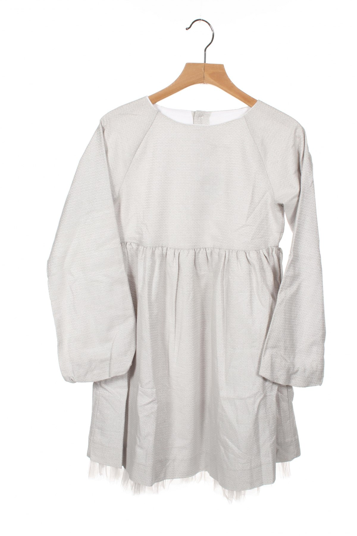 Детска рокля Neck & Neck, Размер 8-9y/ 134-140 см, Цвят Сив, 92% памук, 8% полиестер, Цена 29,50лв.