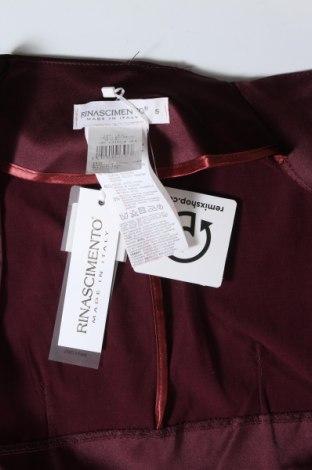 Болеро Rinascimento, Размер S, Цвят Червен, 60% полиестер, 37% памук, 3% еластан, Цена 22,12лв.