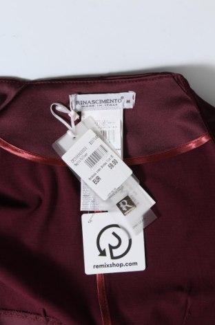 Болеро Rinascimento, Размер M, Цвят Червен, 60% полиестер, 37% памук, 3% еластан, Цена 22,12лв.
