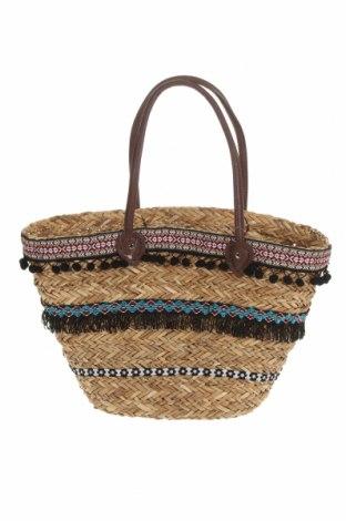 Чанта Reserved, Цвят Бежов, Други тъкани, Цена 23,40лв.