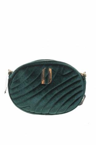 Geantă de femei Cropp, Culoare Verde, Textil, Preț 103,62 Lei