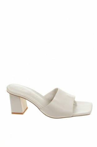 Pantofle Zara, Velikost 36, Barva Bílá, Pravá kůže, Cena  859,00Kč