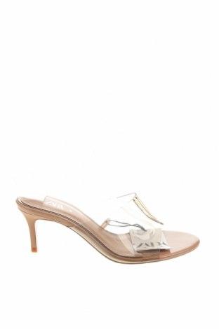 Чехли Zara, Размер 38, Цвят Бял, Полиуретан, Цена 22,05лв.