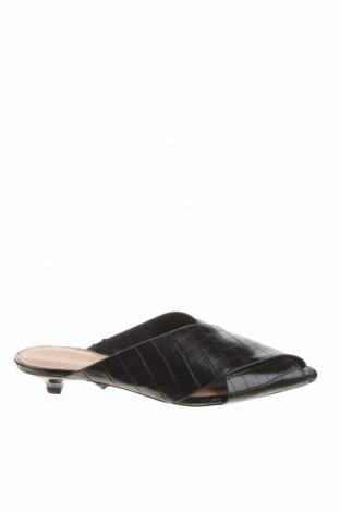 Pantofle Zara, Velikost 35, Barva Černá, Eko kůže, Cena  320,00Kč