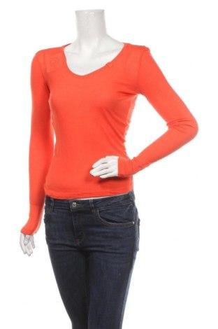 Γυναικεία μπλούζα, Μέγεθος M, Χρώμα Πορτοκαλί, Βισκόζη, Τιμή 5,52€