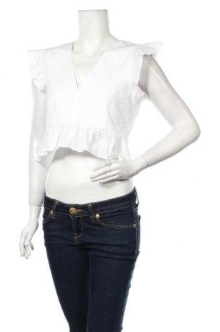 Дамска блуза About You, Размер M, Цвят Бял, Памук, Цена 16,32лв.