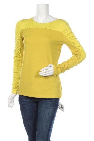 Дамска блуза Buffalo, Размер M, Цвят Зелен, 75% полиестер, 25% вискоза, 5% еластан, Цена 25,20лв.
