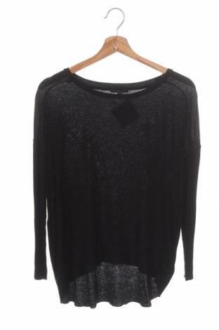 Дамска блуза COS, Размер XS, Цвят Черен, 70% вискоза, 30% вълна, Цена 46,75лв.