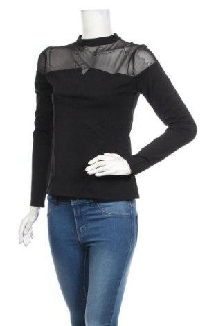 Bluză de femei Comma,, Mărime S, Culoare Negru, 73% viscoză, 23% poliamidă, 4% elastan, Preț 162,83 Lei