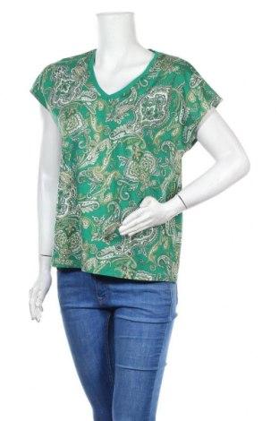 Дамска блуза Cortefiel, Размер M, Цвят Зелен, Цена 12,00лв.