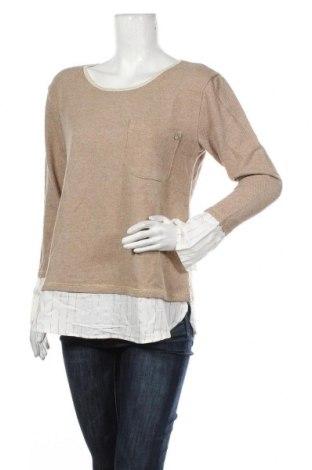 Bluză de femei Cream, Mărime M, Culoare Bej, 42%acril, 34% bumbac, 17% poliester, 4% lână, Preț 124,83 Lei
