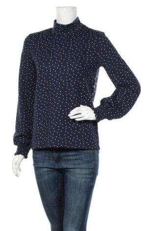 Дамска блуза Cream, Размер M, Цвят Син, 68% полиестер, 30% вискоза, 2% еластан, Цена 29,67лв.