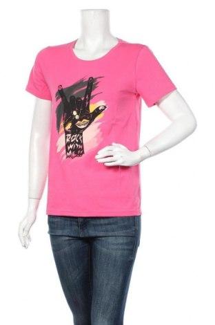Дамска блуза Culture, Размер M, Цвят Розов, Цена 31,85лв.