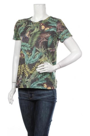 Дамска блуза Culture, Размер S, Цвят Многоцветен, 80% полиестер, 20% лен, Цена 9,80лв.