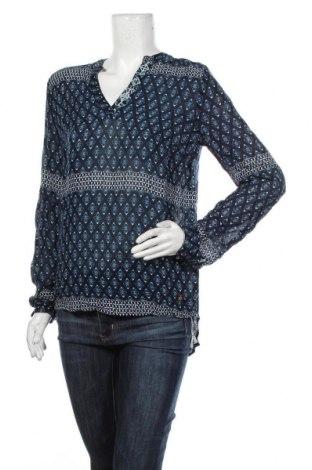 Дамска блуза Culture, Размер M, Цвят Син, Вискоза, Цена 24,30лв.