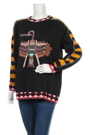 Дамска блуза Desigual, Размер M, Цвят Многоцветен, 60% памук, 33% полиестер, 6% акрил, 1% еластан, Цена 70,95лв.