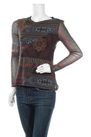 Дамска блуза Desigual, Размер S, Цвят Многоцветен, Полиамид, Цена 31,15лв.