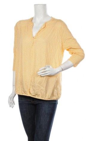 Дамска блуза Essentials by Tchibo, Размер XL, Цвят Жълт, 50% памук, 50% модал, Цена 4,73лв.