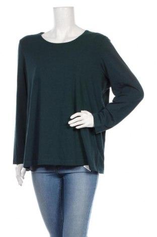 Γυναικεία μπλούζα Gerry Weber, Μέγεθος XXL, Χρώμα Πράσινο, 50% βαμβάκι, 45% μοντάλ, 5% ελαστάνη, Τιμή 19,49€