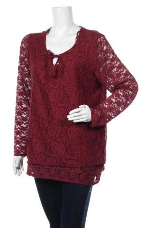 Γυναικεία μπλούζα Gina Benotti, Μέγεθος L, Χρώμα Κόκκινο, Πολυαμίδη, Τιμή 8,18€