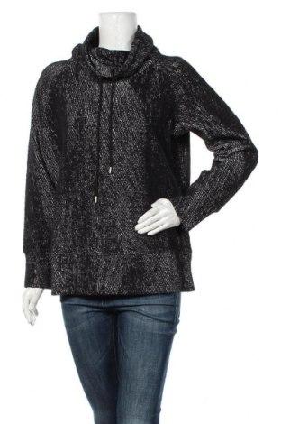 Дамска блуза Kirkland, Размер L, Цвят Черен, 53% памук, 37% полиестер, 8% вискоза, 2% еластан, 3% полиестер, Цена 17,96лв.
