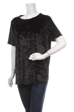 Γυναικεία μπλούζα Laura Torelli, Μέγεθος XL, Χρώμα Μαύρο, 95% πολυεστέρας, 5% ελαστάνη, Τιμή 12,34€
