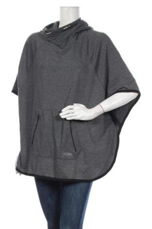 Дамска блуза Ocean, Размер M, Цвят Сив, 65% полиестер, 35% памук, Цена 6,83лв.
