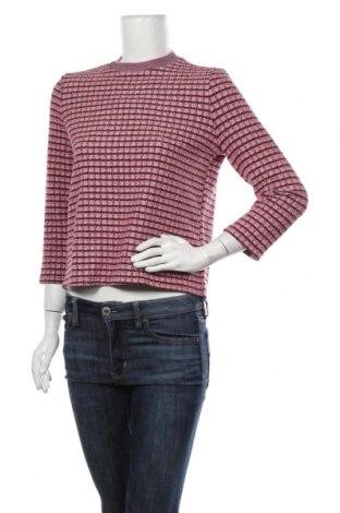 Дамска блуза One More Story, Размер S, Цвят Розов, 45% полиестер, 26% памук, 24% вискоза, 5% еластан, Цена 15,96лв.