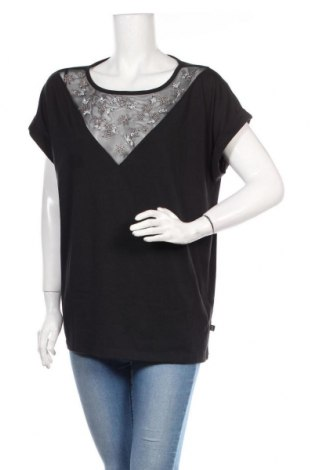 Дамска блуза Q/S by S.Oliver, Размер XXL, Цвят Черен, Цена 18,00лв.