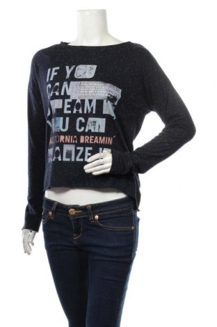 Γυναικεία μπλούζα Q/S by S.Oliver, Μέγεθος S, Χρώμα Μπλέ, 60% βαμβάκι, 40% πολυεστέρας, Τιμή 12,45€