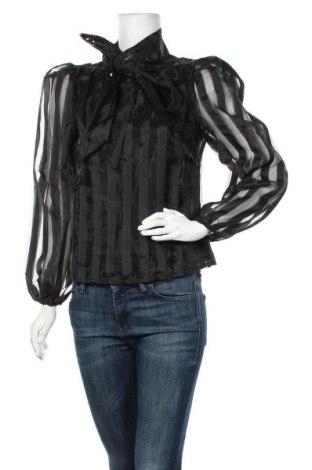 Дамска блуза Rinascimento, Размер S, Цвят Черен, Полиестер, Цена 66,75лв.