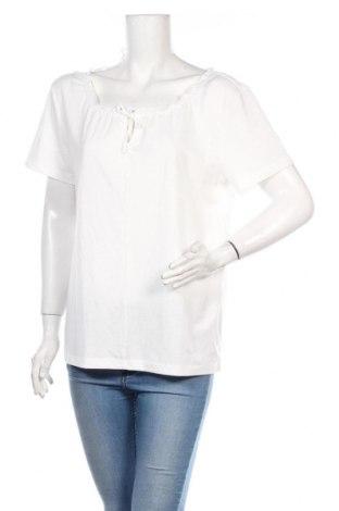 Дамска блуза Tom Tailor, Размер XL, Цвят Бял, 65% полиестер, 35% вискоза, Цена 36,00лв.