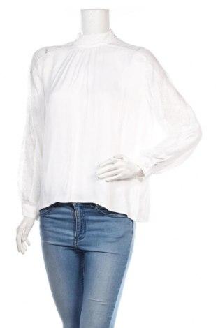 Γυναικεία μπλούζα Zara, Μέγεθος M, Χρώμα Λευκό, Τιμή 15,77€