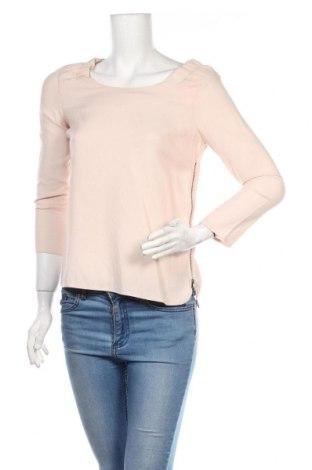 Дамска блуза Zara, Размер S, Цвят Розов, Цена 36,00лв.