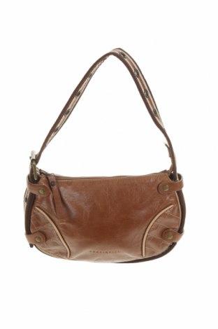 Γυναικεία τσάντα Coccinelle, Χρώμα Καφέ, Γνήσιο δέρμα, κλωστοϋφαντουργικά προϊόντα, Τιμή 71,26€