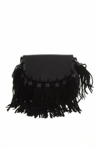 Geantă de femei Cropp, Culoare Negru, Piele ecologică, Preț 85,43 Lei