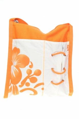 Дамска чанта Fila, Цвят Оранжев, Текстил, Цена 20,65лв.